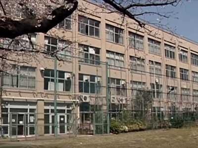 岡田准一 港区立三河台中学校