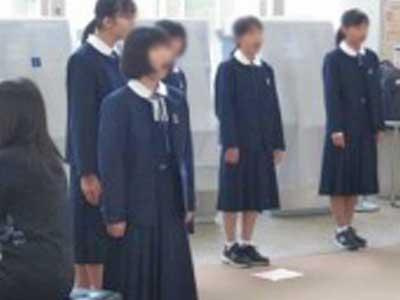 市川第二中学校参考制服画像