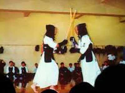有働由美子 高校時代 剣道