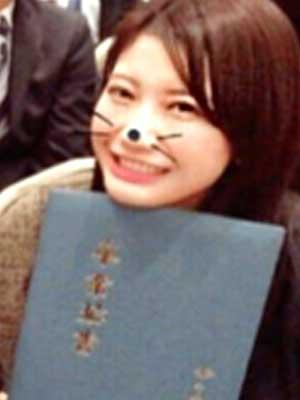小倉優香 高校 卒業式