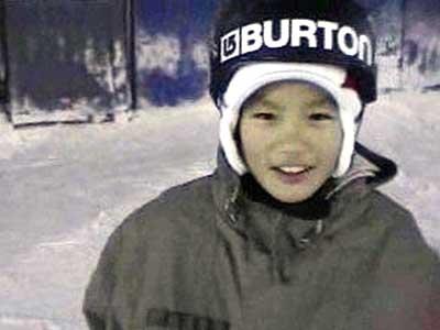 野村周平 スノーボード