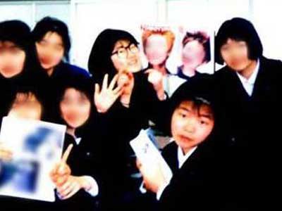 光浦靖子 高校時代