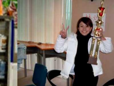 高内三恵子 大学時代