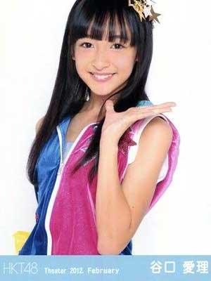 谷口愛理 HKT48