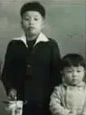 舘ひろし 小学生時代 6歳