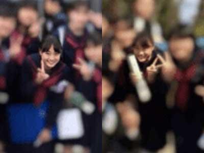 大友花恋 卒業式 中学校