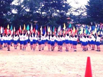 野々村香音 小学生時代 運動会