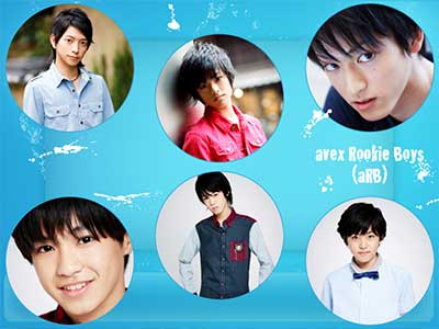 眞嶋秀斗 avex Rookie Boys