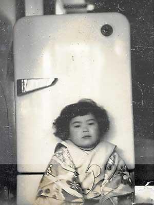 上沼恵美子 幼少期