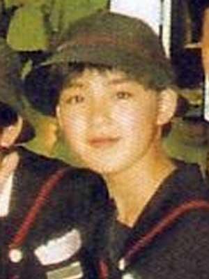 中野美奈子 中学時代
