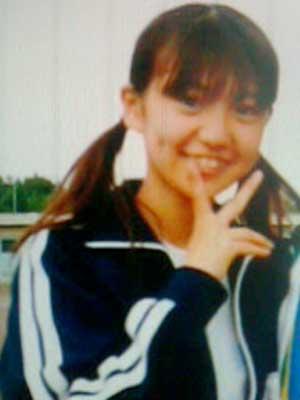 大島優子 中学時代