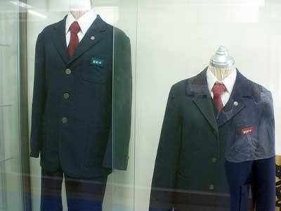 川崎市立宮前台中学校制服参考画像