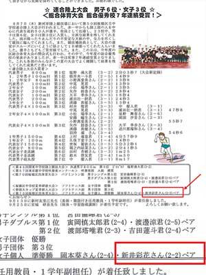 赤塚第一中学校 赤一だより