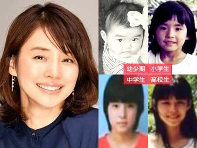 石田ゆり子 成長過程