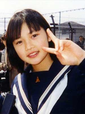 YUI 中学生時代
