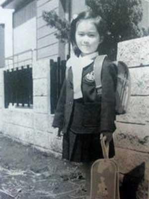 酒井法子 小学生時代