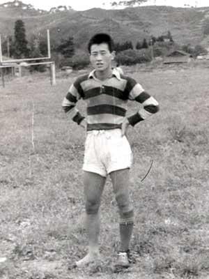 森喜朗 高校時代 ラグビー