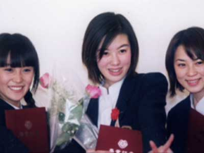 山口紗弥加 高校卒業