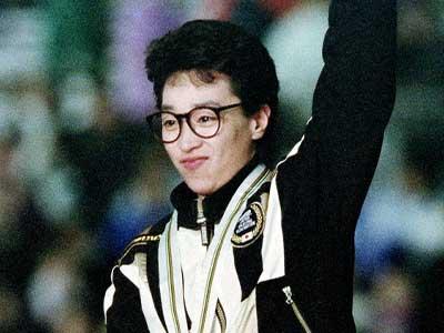 橋本聖子 アルベールビルオリンピック