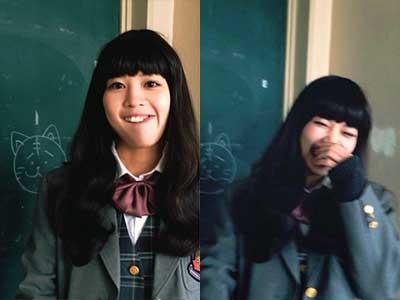 吉谷彩子 高校時代