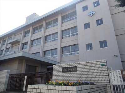 松山市立道後中学校