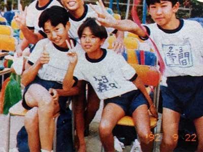 森田剛 小学生時代