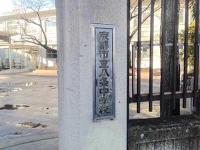 京都市立八条中学校