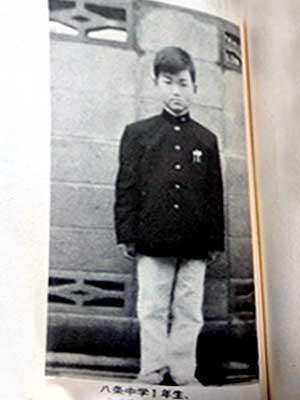 島田紳助 中学時代