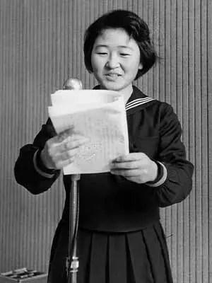 加藤登紀子 高校時代