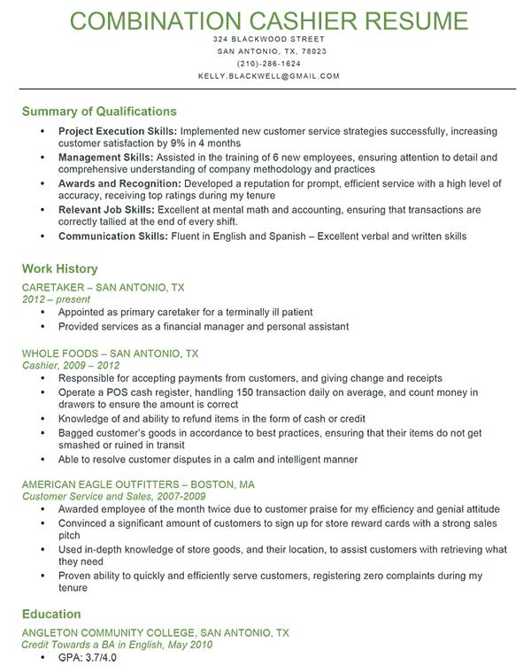 Skills For Customer Service Resume example objective for resume customer service representative with profile and skills customer Resume Summary Examples Summary Of Qualifications On Resume Examples