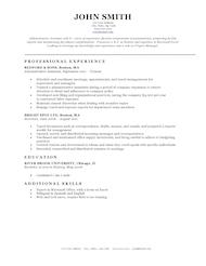Comprehensive Resume Format - Resume Sample