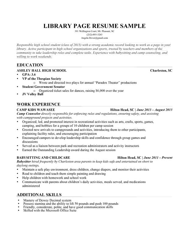 Click Here To View This Resume Great Resume Answers 101 Great As A