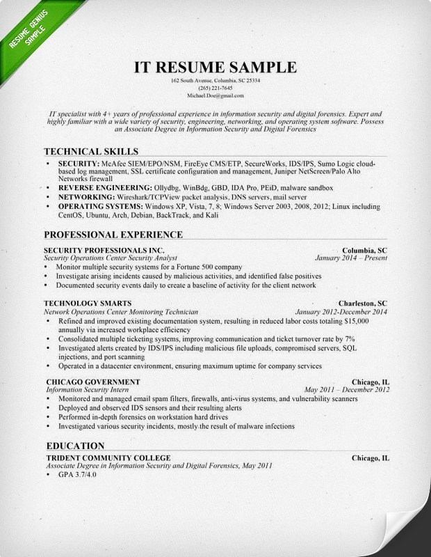 Resume Doc Template. Document Control Resume Resume Template