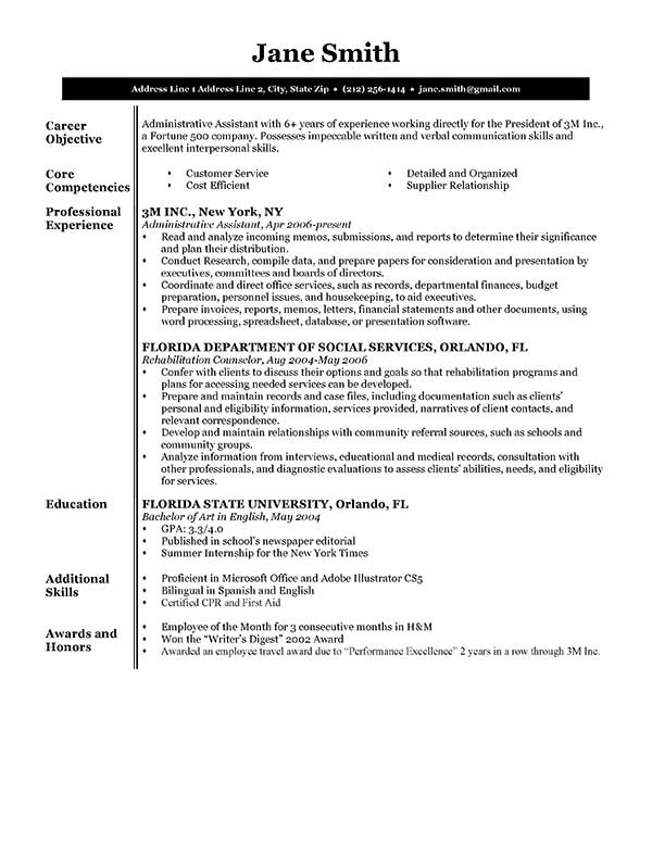 Skills And Abilities On Resume For Retail. Skills And Abilities