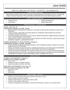 advanced resume templates resume genius