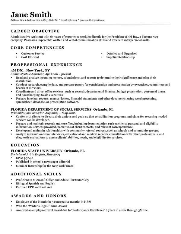 Classic Resume Templates. Classic Resume Template. Executive