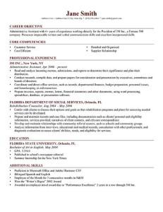 Free Able Resume Templates Genius