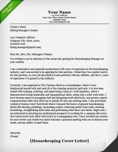 Housekeeping Cleaning Resume Sample Genius