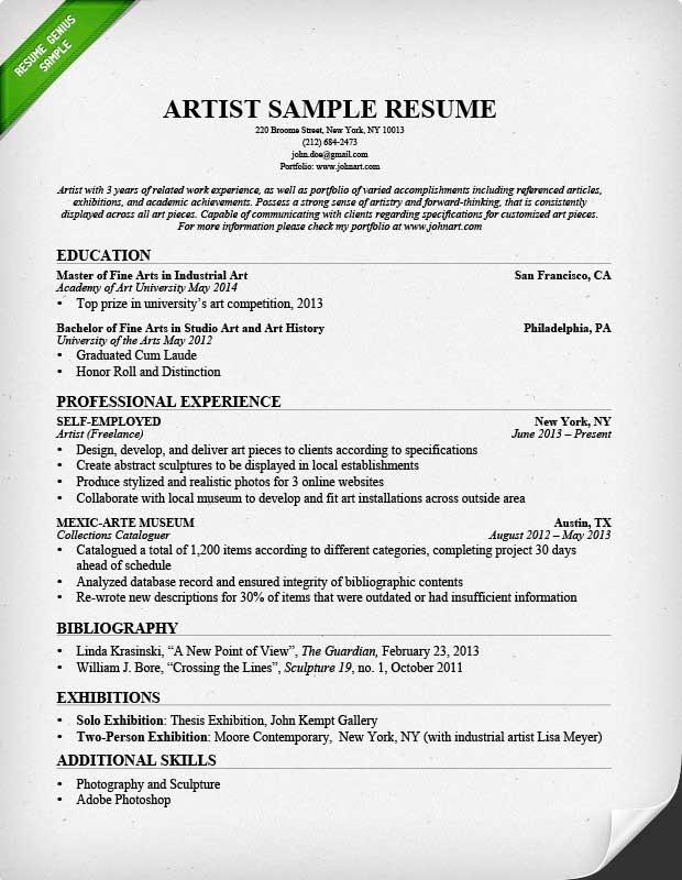 Art Education Resume. Art Teacher Resume Examples Sample Resume Of