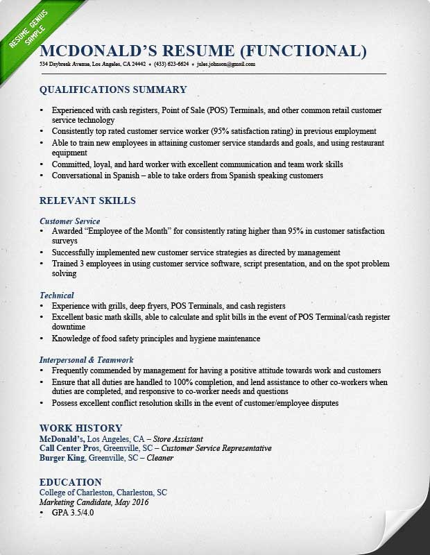 Resume Exle Careerbuilder Paid Services India Functional Ski For Cover Letters