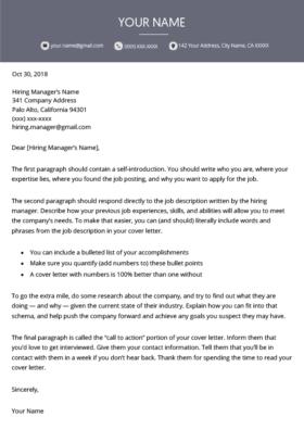 120 Free Er Letter Templates Ms