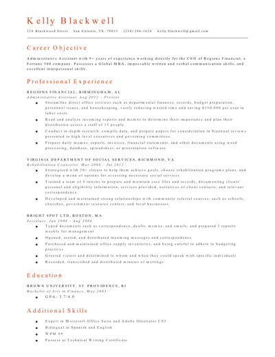 Free Resume Builder Create A Professional Resume Fast