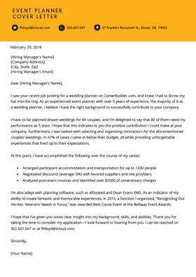 Artist Cover Letter Example Resume Genius