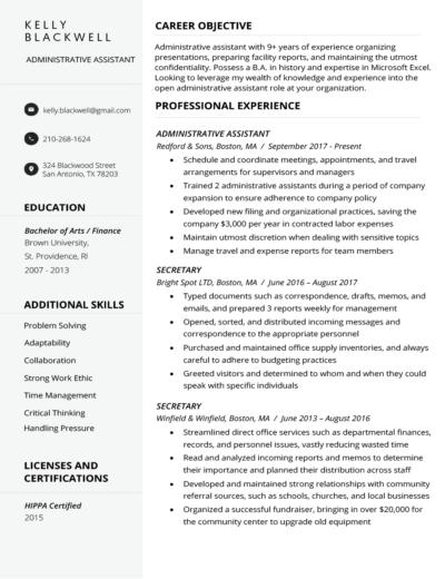 pre written resume