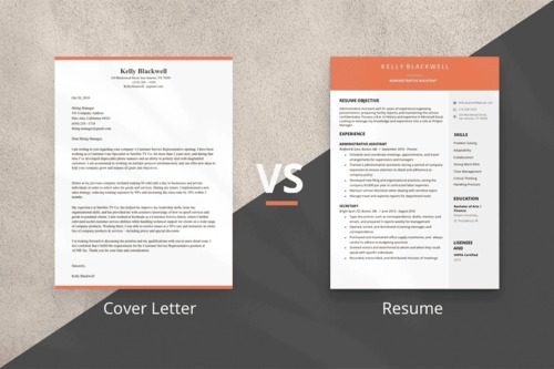 Cover Letter Vs Resume Four Key Differences
