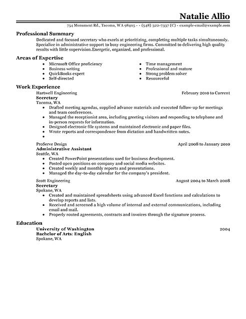 Doc Resume Examples For Professional Jobs Best Resume - Tax preparer resume sample