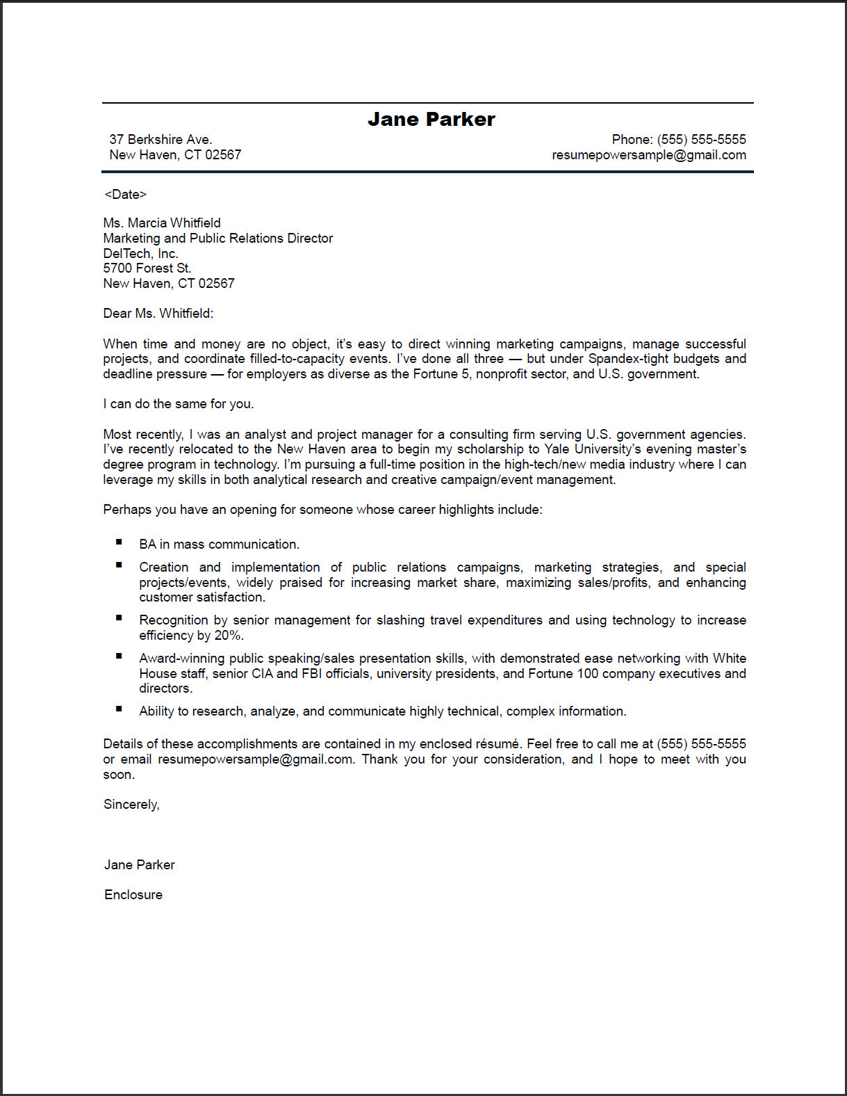Body Of Email With Resume And Cover Letter Attached. how to write ...