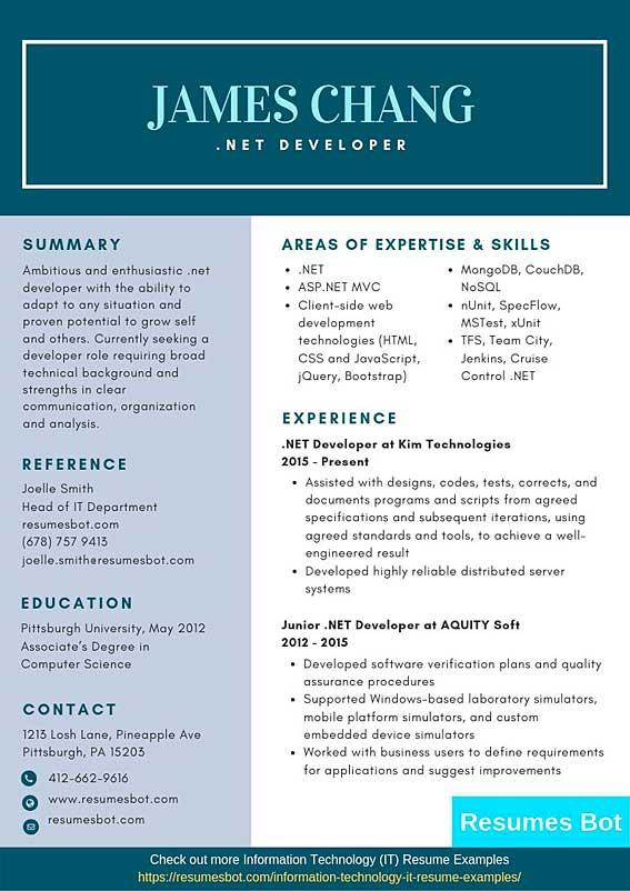 Net Developer Resume Samples Templates Pdf Word 2021 Net Developer Resumes Bot