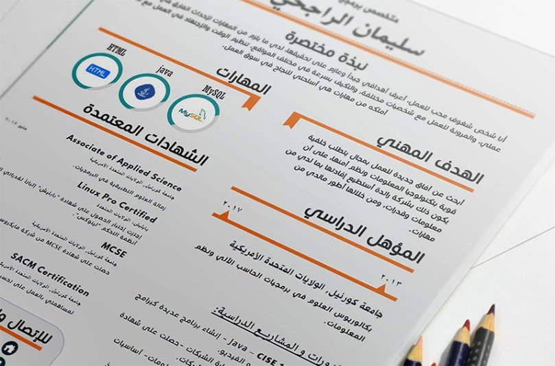 Echo   Beautiful Editable Arabic Resume Template   Resumes Mag     Echo   Beautiful Editable Arabic Resume Template