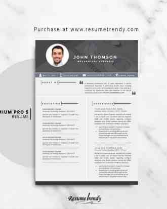 Resume-Template-PremiumPro5-1-2018